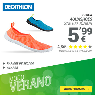 Decathlon aquashoes